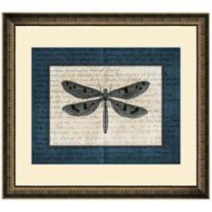 "Dragonflies IV 19 1/2"" Wide Wall Art"