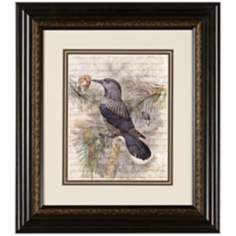 "Elegant Birds I 15 3/4"" Wide Wall Art"