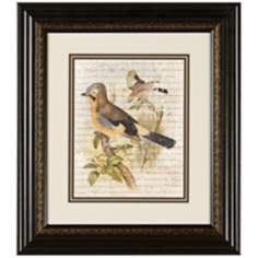 "Elegant Birds II 15 3/4"" Wide Wall Art"