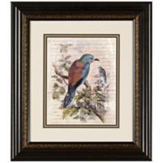 "Elegant Birds III 15 3/4"" Wide Wall Art"