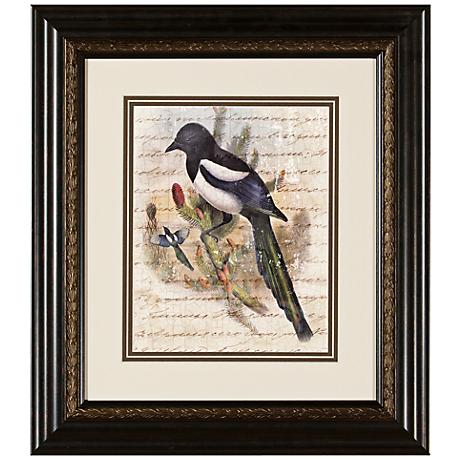 "Elegant Birds IV 15 3/4"" Wide Wall Art"