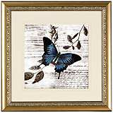 "Elegant Botanical IV 18 3/4"" Wide Wall Art"