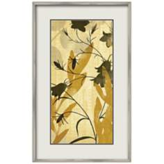 "Seasonal Lilies II 19 1/4"" Wide Wall Art"