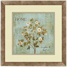 "Family Flowers I 18 1/4"" Wide Wall Art"