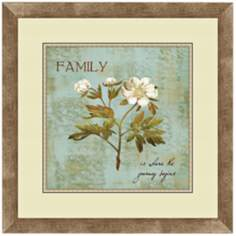 "Family Flowers II 18 1/4"" Wide Wall Art"