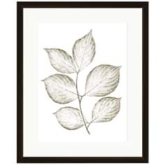 "Leaf Silhouettes I 17 3/4"" Wide Wall Art"
