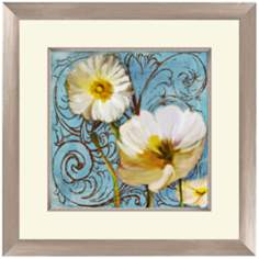 "White and Yellow Flowers II 18 1/2"" Wide Wall Art"