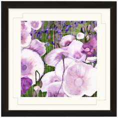 "Floral Dancing I 24"" Wide Wall Art"