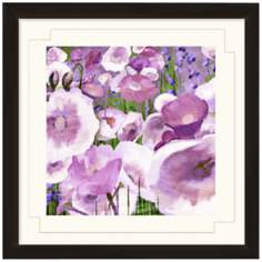 "Floral Dancing II 24"" Wide Wall Art"