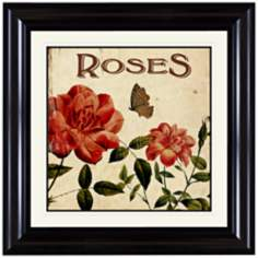 "Roses 18"" Wide Wall Art"