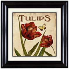 "Tulips 18"" Wide Wall Art"