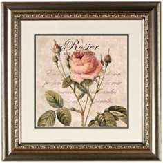 "Rosier 20"" Wide Wall Art"
