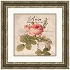 "Rosa 20"" Wide Wall Art"
