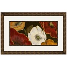"Beautiful Poppies I 33 1/2"" Wide Wall Art"