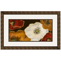 "Beautiful Poppies II 33 1/2"" Wide Wall Art"