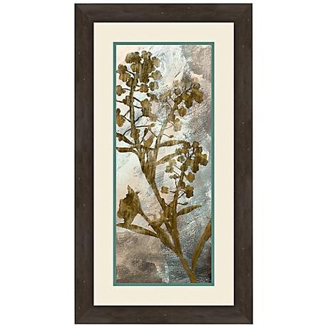 "Floral Memories I 27"" High Wall Art"