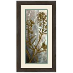"Floral Memories II 27"" High Wall Art"