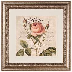"Rose I 27 1/2"" Wide Wall Art"