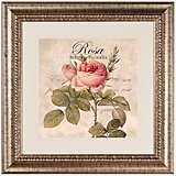"Rose II 27 1/2"" Wide Wall Art"