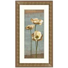 "Blooming Poppy I 27 1/2"" High Wall Art"