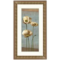 "Blooming Poppy II 27 1/2"" High Wall Art"