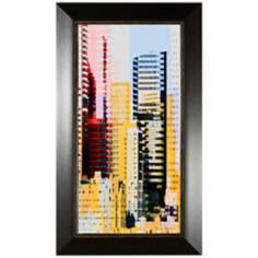 "Skyscraper II 35 3/4"" High Wall Art"