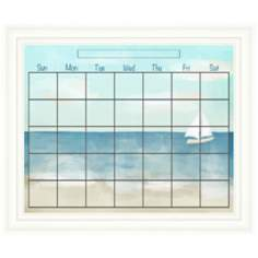 "Beach Scene 24"" Wide Memoboard"