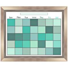 "Pixel Green 23 1/2"" Wide Memoboard"