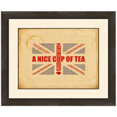 "A Nice Cup of Tea 24"" Wide Wall Art"