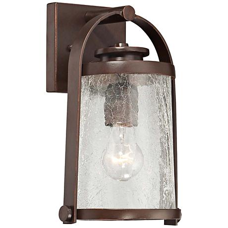 "Travessa Bronze 11"" High Small Outdoor Wall Light"