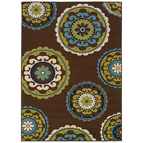 Oriental Weavers Caspian Collection 859D6 Indoor-Outdoor Rug
