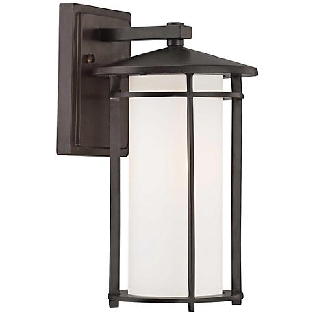 "Addison Park 12 1/2"" High Bronze Outdoor Wall Light"