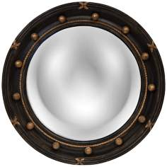"Regency 22"" High Convex Round Wall Mirror"