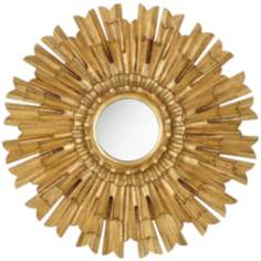 "Eleganza 22"" High Starburst Wall Mirror"