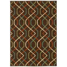 Oriental Weavers Montego Collection 896N6 Rug