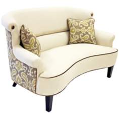 Deerfield Ikat Loveseat