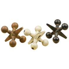 Set of 3 Decorative Jax