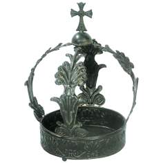 King George Crown Decorative Accent