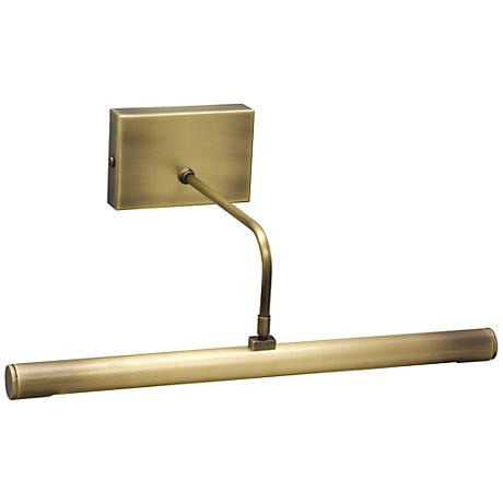 "House of Troy 12"" Battery LED Brass Picture Light"