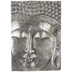 "Buddha 27 1/2"" High Wall Art Plaque"