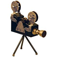Sterling Olivier Camera Figurine