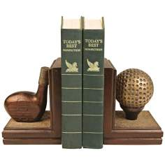 Sterling Brunstfield Links Bookends