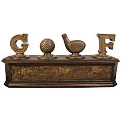 Golf Lovers Keepsake Box