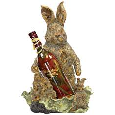 Rabbit Spirits or Wine Bottle Holder