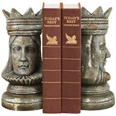King and Queen Bookends