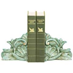 Bernini Italian Scroll Bookends