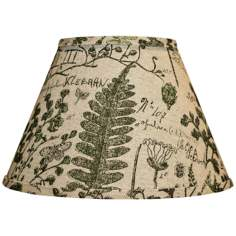 Cedar Moss Woodlands Empire Lamp Shade 6x12x8 (Spider)