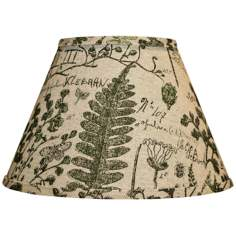 Cedar Moss Woodlands Empire Lamp Shade 8x14x10.25 (Spider)