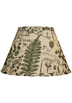 Cedar Moss Woodlands Lamp Shade 10x18x13 (Spider)