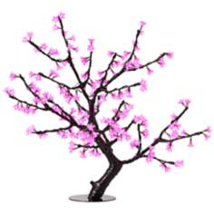 "32"" Pink Cherry Blossoms LED Lamp"